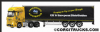 CORGI CC15807 Mercedes MP4 Curtainside, Caledonian Logistics **LAST ONE **